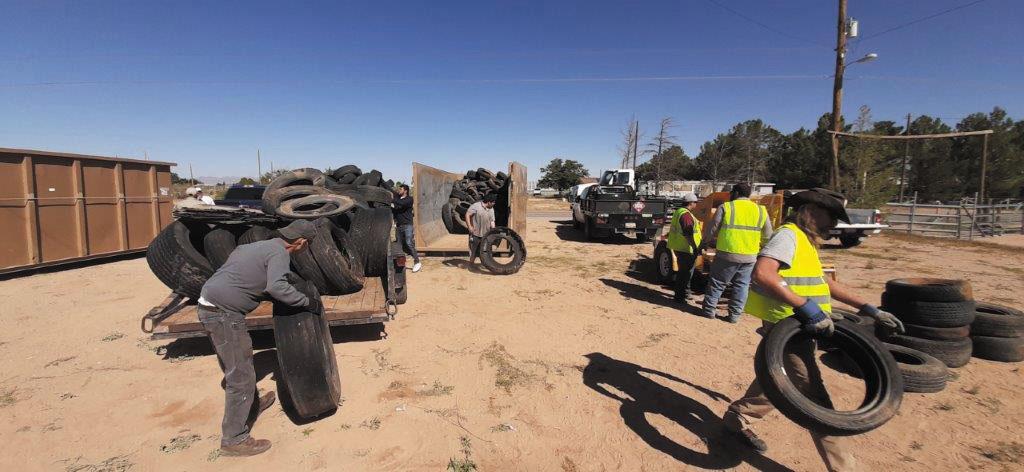 Condado de Doña Ana inicia operativo de barrido comunitario