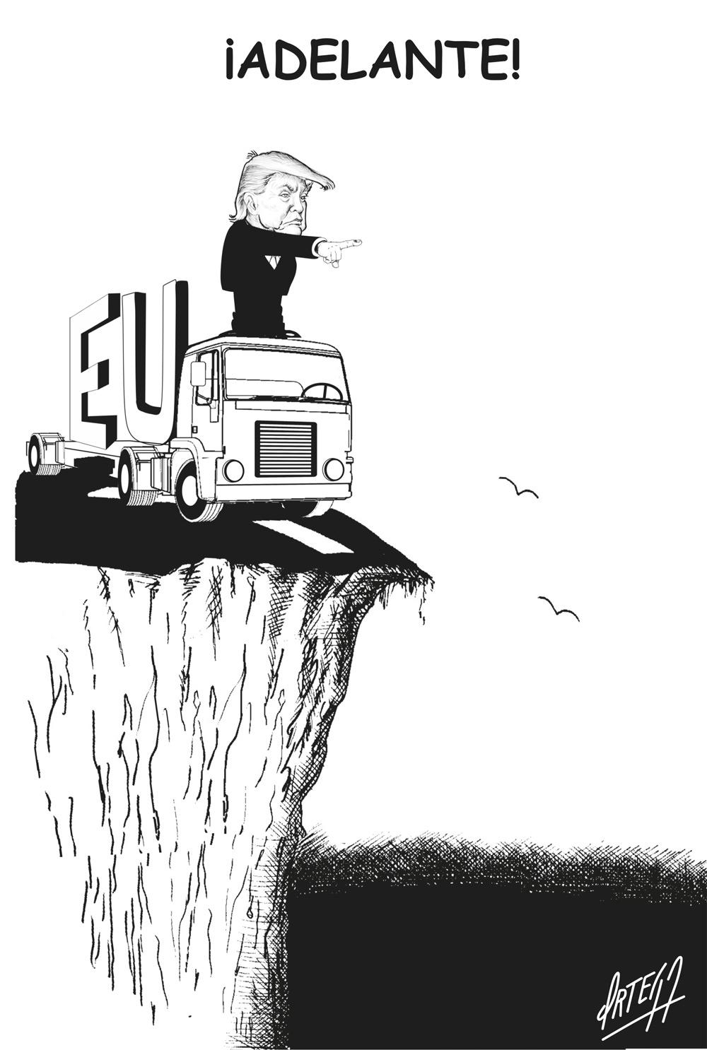 Los pronósticos sobre el colapso de Estados Unidos