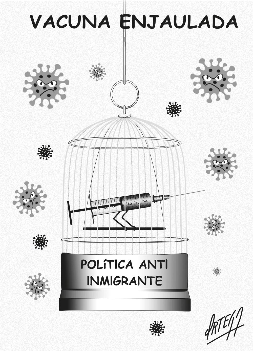 ¡Señor Trump, diga gracias a los inmigrantes!