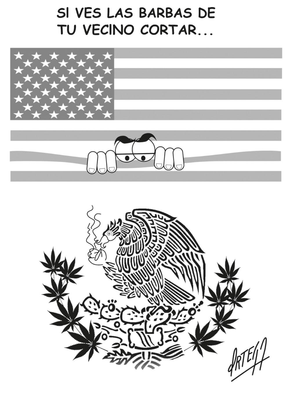 Impacto Regional de legalización de la marihuana en México