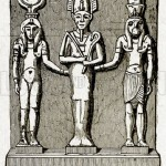 Osiris, Isis, and Horus