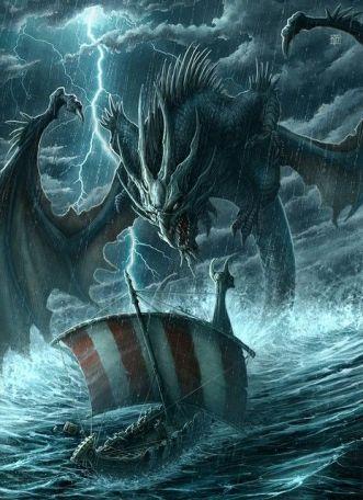 dragon barco