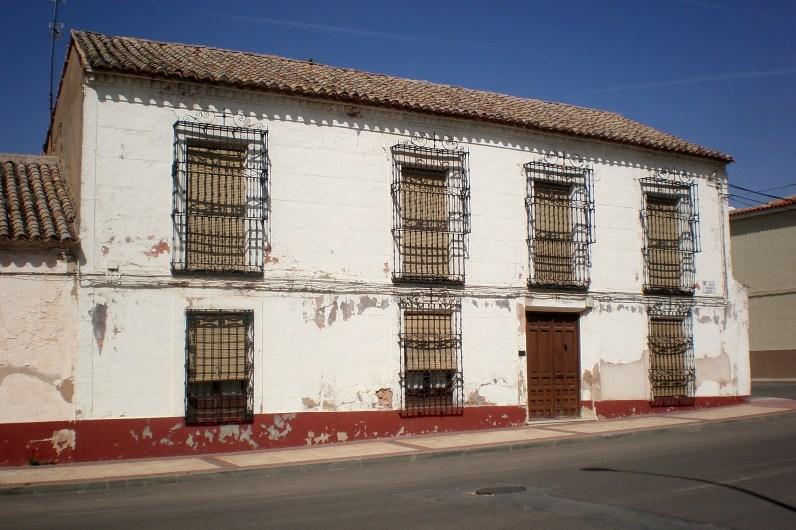 Campo de Criptana: Casa de la Calle Antonio Espín