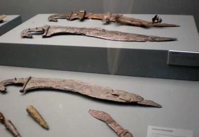 Albacete: Museo Provincial, falcatas íberas