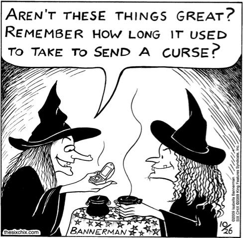 send a curse