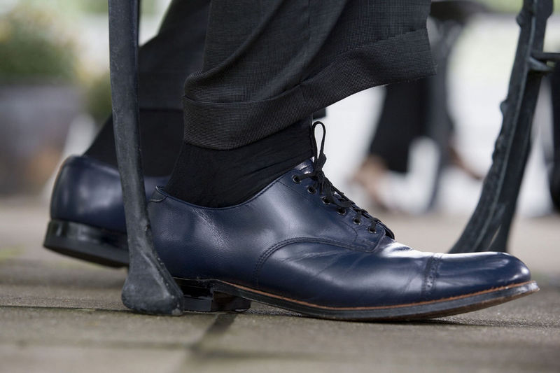 Conjuntar bien el calcetî es muy importante si no quiere fracasar estrepitosamente en su vestuario