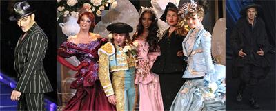 John Galliano destaca por su imaginación en cada desfile