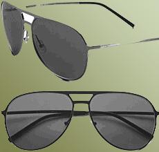 Un modelo de gafas de Dior estiloaviador