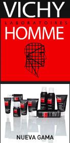 La marca de cosméticos Vichy ofrece una amplia gama de productos para el cuidado de la pile delhombre