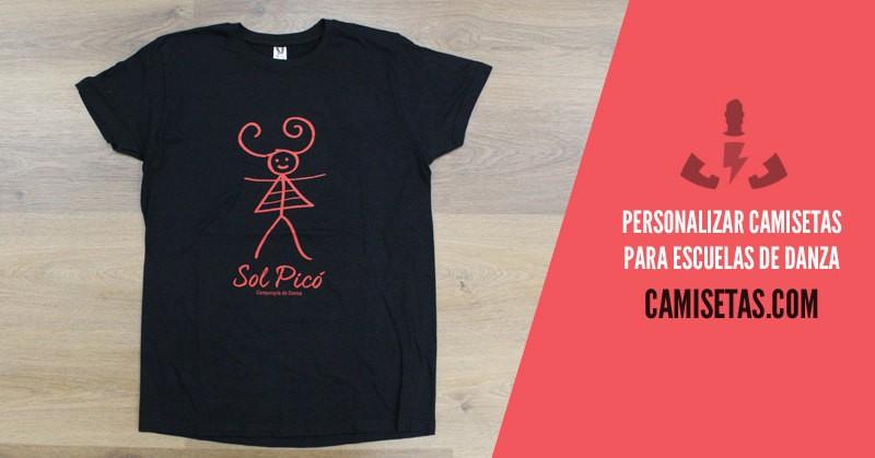 Personalizar camisetas para escuelas de danza 1