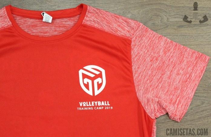 Estampar camisetas deportivas