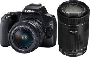 Canon EOS 250D + 18-55mm III + 55-250 IS STM Zoom Lens