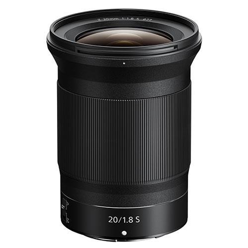 Nikon NIKKOR Z 20mm f/1.8 S Wide Angle Prime