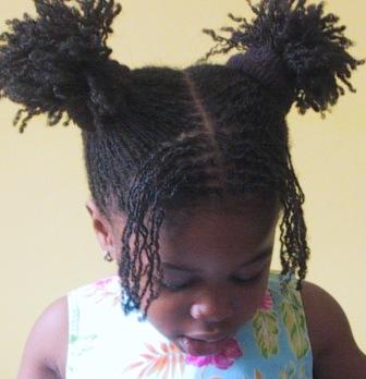 Child with locs