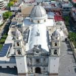 Fotografía aérea Catedral de Tehuacán