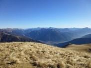 Il panorama dal Valsecca verso Est