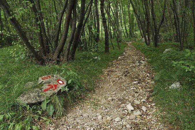Sentiero Kovk