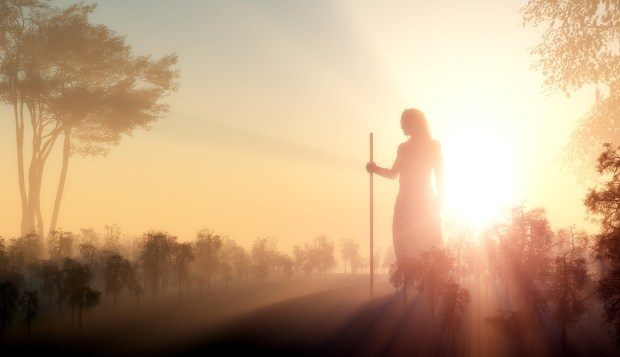 bigstock-Silhouette-of-Jesus-in-the-sun-40029079