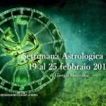 SETTIMANA ASTROLOGICA  DAL 19 FEBBRAIO AL 25 FEBBRAIO 2018 -SUPER STELLIUM IN PESCI