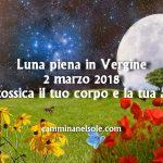 LUNA PIENA IN VERGINE- 2 MARZO 2018-DISINTOSSICA IL TUO CORPO E LA TUA ANIMA