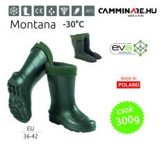 Camminare – Montana női EVA csizma ZÖLD (-30°C)