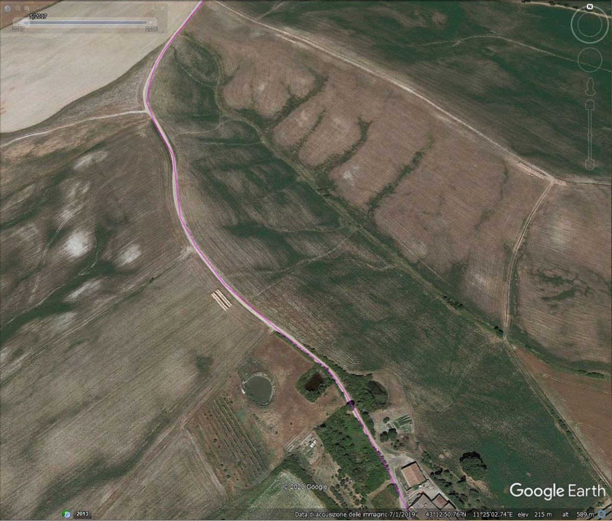 Navigare con Google Earth
