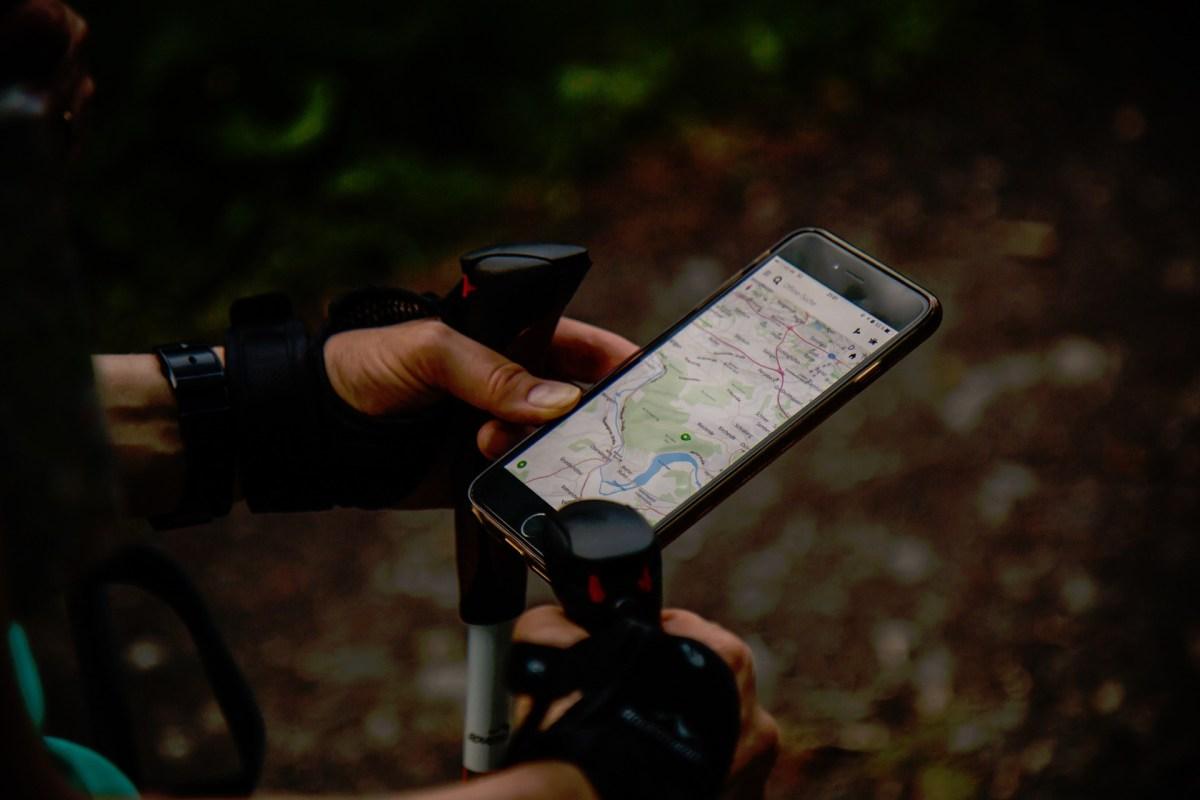 Come usare le tracce GPS in cammino