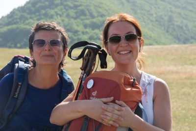 Cammino Terre Mutate Tappa 1 Fabriano Matelica donne in cammino