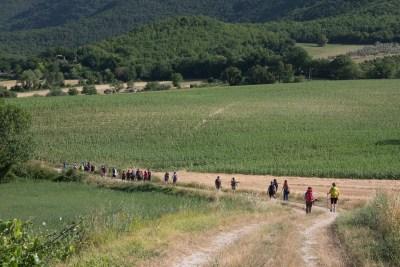 Cammino Terre Mutate Tappa 1 Fabriano Matelica la campagna di fabriano (2)