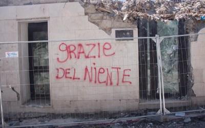Terremoto nell'Italia centrale, non ancora dimenticato