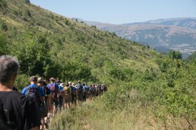 Cammino Terre Mutate Tappa 14 Collebrincioni - L'Aquila (26)