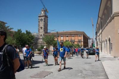 Cammino Terre Mutate Tappa 14 Collebrincioni - L'Aquila (74)