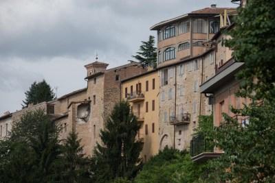 Cammino Terre Mutate Tappa 3 Camerino Fiastra camerino distrutta