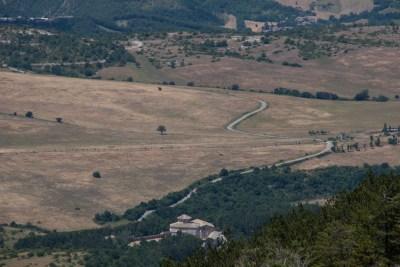 Cammino Terre Mutate Tappa 4 Fiastra Ussita Santuario di Macereto
