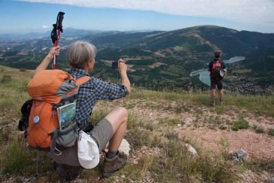 Cammino Terre Mutate Tappa 4 Fiastra Ussita paesaggi dei monti sibillini
