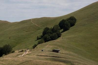 Cammino Terre Mutate Tappa 4 Fiastra Ussita prati montani