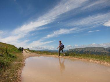 Cammino Terre Mutate Tappa 4 Fiastra Ussita sentieri dei monti sibillini