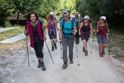 Cammino Terre Mutate Tappa 5 Ussita-Campi di norcia donne in cammino