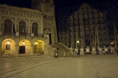 Cammino Terre Mutate Tappa 6 Campi di Norcia - Norcia Basilica di san benedetto di norcia