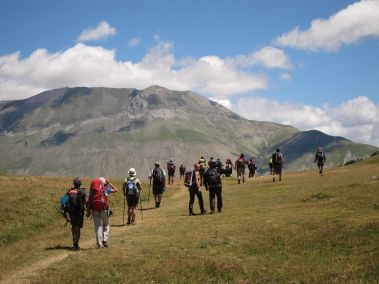 Cammino Terre Mutate Tappa 7 Norcia - Castelluccio di norcia (47)