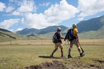 Cammino Terre Mutate Tappa 8 Castelluccio di Norcia - Arquata del Tronto (73)