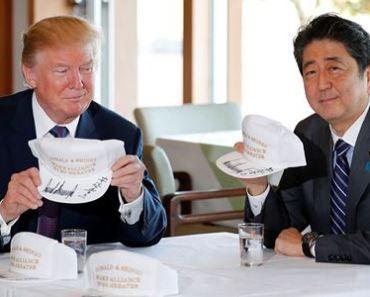 Tổng thống Trump và Thủ tướng Abe.