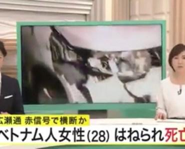 Một DHS Việt bị tai nạn giao thông tử vong ở Nhật
