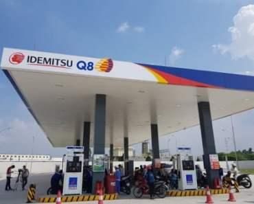 Cửa hàng xăng dầu IQ8 Nhật