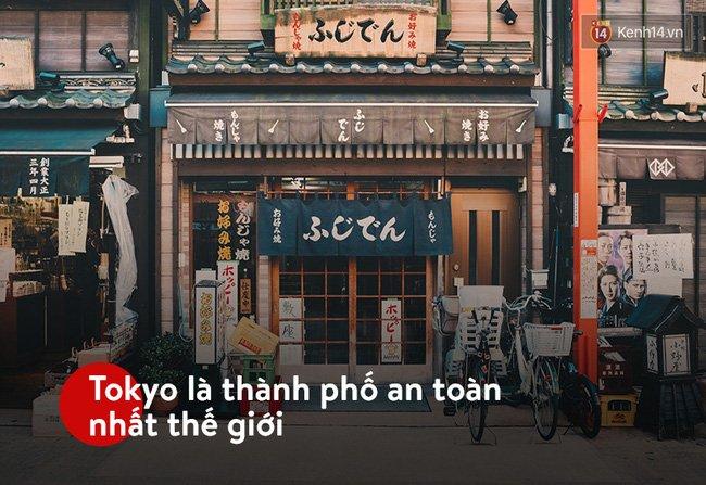 Tokyo là thành phố an toàn nhất thế giới