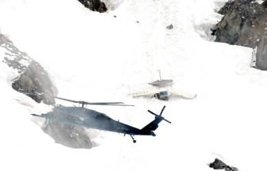 Chiếc máy bay rơi được tìm thấy