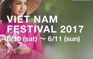 Lễ hội giao lưu văn hoá Việt Nam tại Nhật Bản 2017