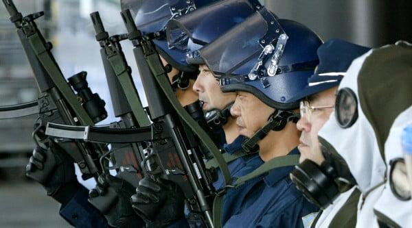 Lực lượng chống khủng bố của Nhật Bản. (Nguồn: Reuters)