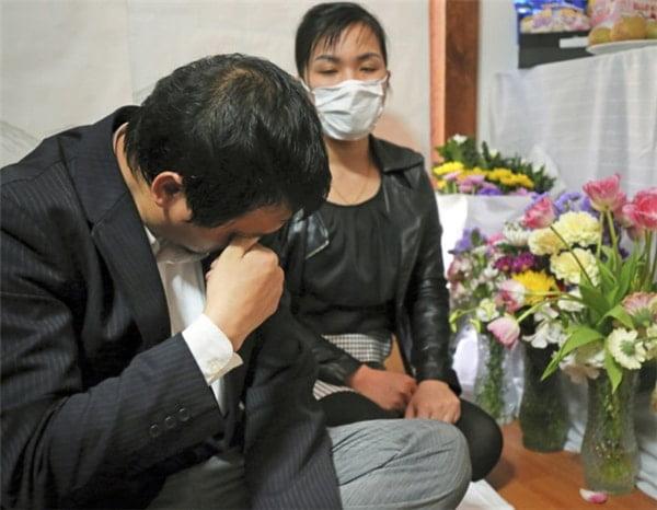 Nỗi đau mất con của gia đình Nhật Linh quá lớn và xót xa. (Ảnh: Internet)