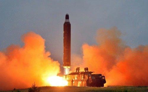 Triều tiên tiếp tục thử phiệm phóng tên lửa